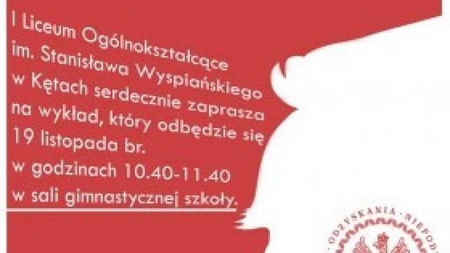 Zaproszenie na wykład - Józef Piłsudski w literaturze polskiej