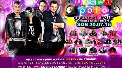 ZATOR. Disco Polo Festival w Energylandii. Gwiazdy zaświecą pełnym blaskiem w lipcową noc