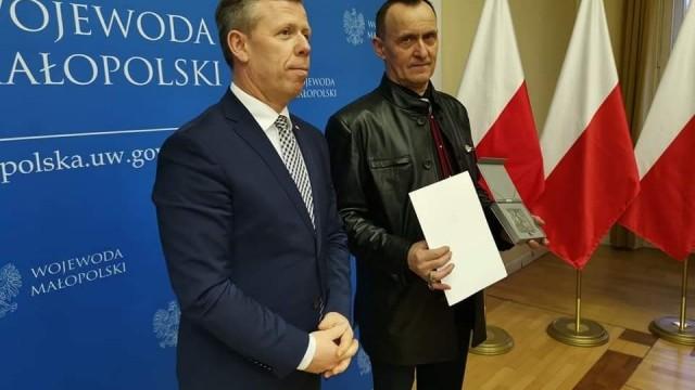ZATOR. Medal 100-lecia Odzyskania Niepodległości dla Stanisława Brzeźniaka