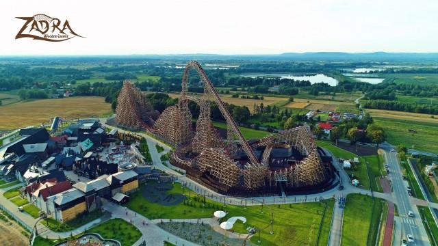 ZATOR. najwyższy na świecie drewniany roller coaster