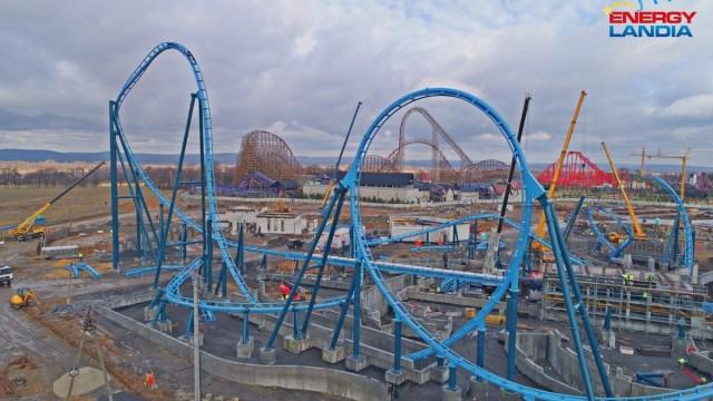 ZATOR-PRZECISZÓW. Roller coaster z 90 000 elementów! Tak się buduje atrakcje w Energylandii