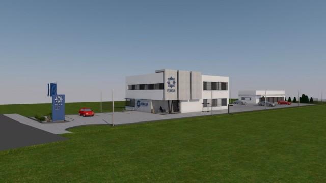 ZATOR. Trwa budowa nowego komisariatu policji
