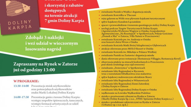 ZATOR. VII Targi Turystyczne Doliny Karpia. Pobierz paszport i baw się w najlepsze