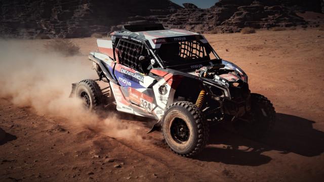 Zatorska ekipa Energylandia Rally Team w pierwszej dziesiątce na dzień przed zakończeniem Rajdu Dakar