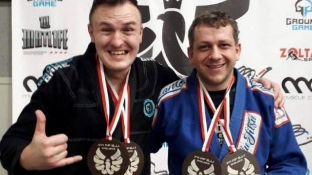 Zawodnicy Bastionu wrócili z Mistrzostw Polski w BJJ z medalami