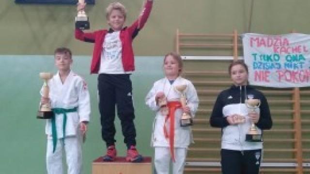 Zawodnicy KS Judo Hejnał Kęty na Turnieju Judo w Pisarzowicach