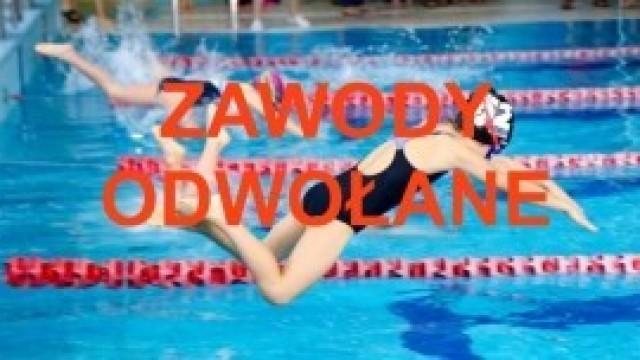 Zawody Pływackie - 26.05.2019 r. – odwołane!
