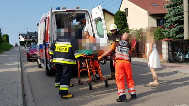Zdarzenia drogowe z udziałem jednośladów w Osieku i Zasolu. ZDJĘCIA!