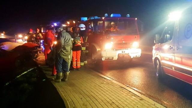 Zdarzenie drogowe na ulicy Ofiar Oświęcimia- sprawca nie posiadał uprawnień do kierowania - InfoBrzeszcze.pl
