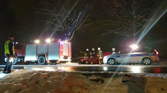 Zderzenie dwóch samochodów osobowych w Brzeszczach. FOTO!