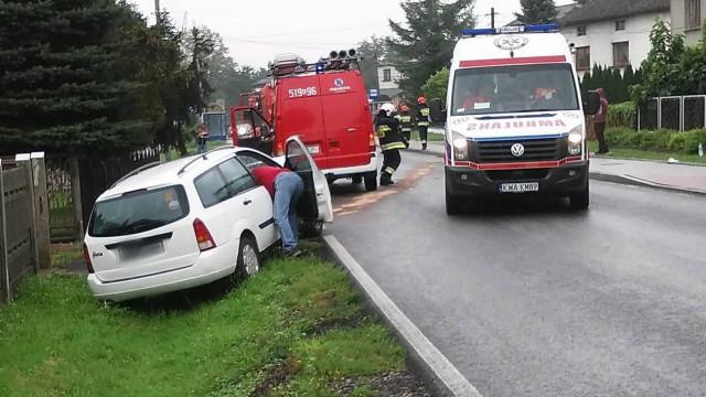 Zderzenie trzech pojazdów w Osieku. ZDJĘCIA, FILM !