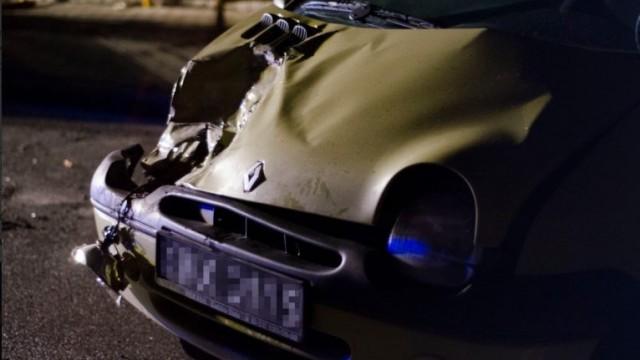 Zderzenie trzech samochodów na ulicy Bielskiej - InfoBrzeszcze.pl