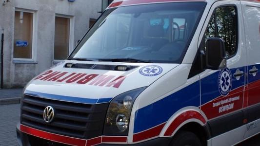 Zderzenie w Brzeszczach. Cztery osoby ranne