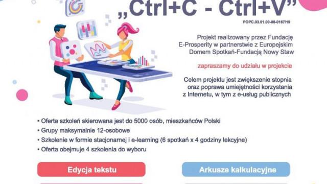 Zdobądź nowe umiejętności. Bezpłatne szkolenia online