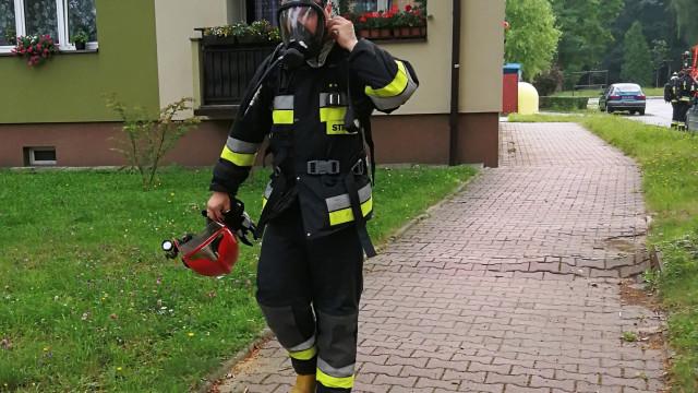 Żelazko pozostawione na parapecie doprowadziło do pożaru. ZDJĘCIA!