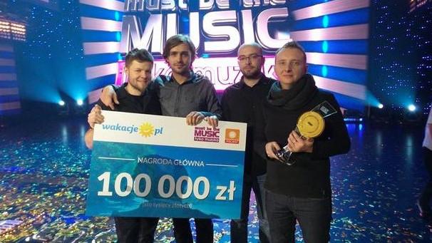 Zespół z Brzeszcz zwycięzcą Must Be The Music!