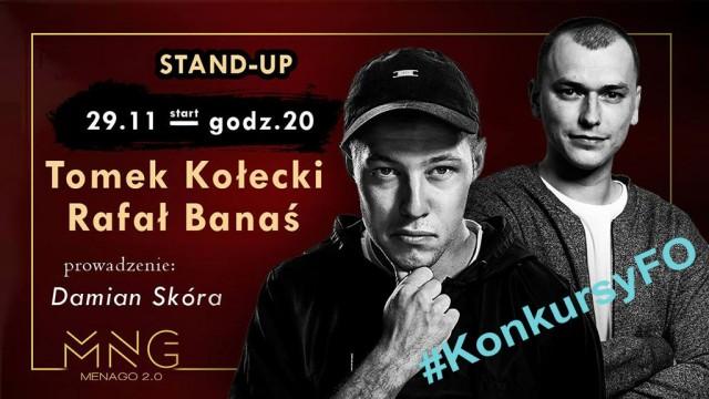 Zgarnij bilety na stand-up Tomka Kołeckiego i Rafała Banasia