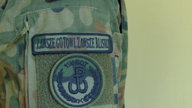 Żołnierz WOT-u zatrzymał złodzieja sklepowego, który skradł butelkę wódki