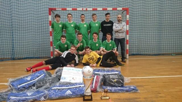 Zwycięstwo PZ nr 6 w Powiatowym Turnieju Piłki Nożnej Halowej