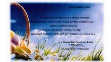 Życzenia Wielkanocne Komendanta Powiatowego Policji w Oświęcimiu
