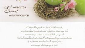 Życzenia Wielkanocne od Burmistrza Gminy Kęty