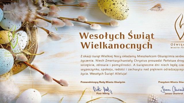 Życzenia Wielkanocne Prezydenta Janusza Chwieruta